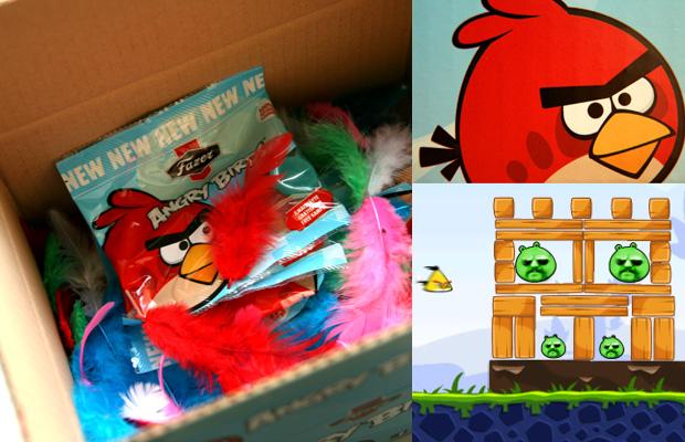Angry Birds saldainiai 2