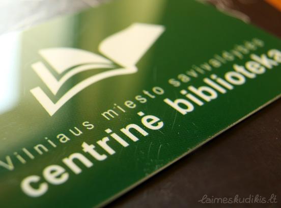 bibliotekos kortele