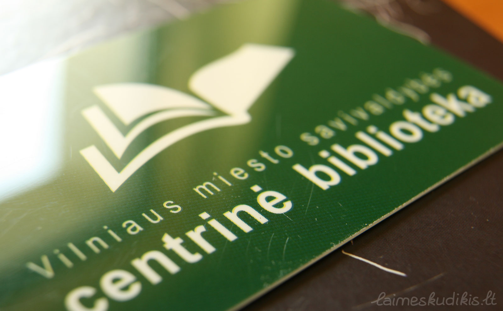 Žalioji bibliotekos kortelė