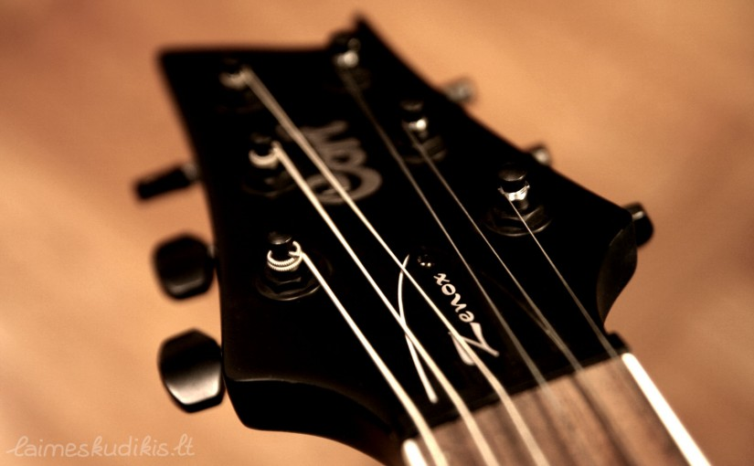 Kaip pradėti groti gitara