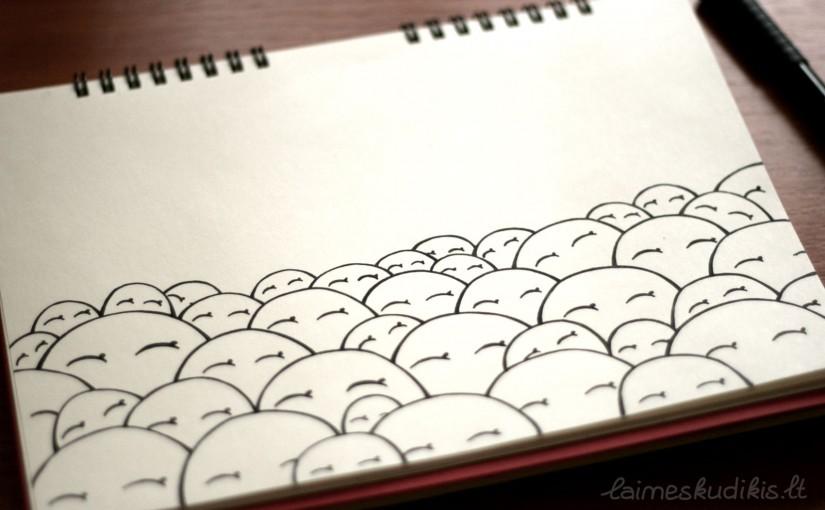 Kaip šypsotis. Žmonės šypsosi ir akimis.