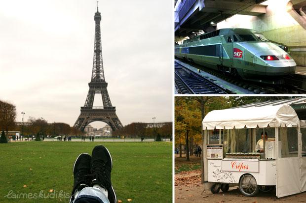 Eifelis, greitasis traukinys, Crepes
